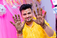 GROOM SIDE MEHNDI